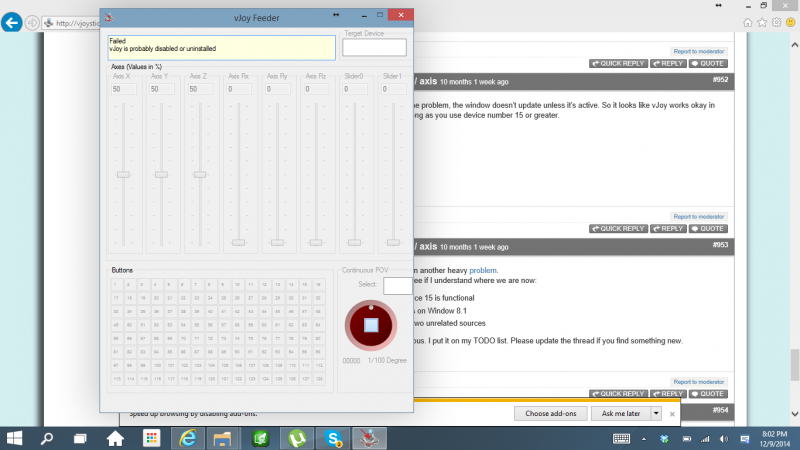 Vjoy forum cannot use vjoy on windows 10 technical preview 11 12g ccuart Gallery